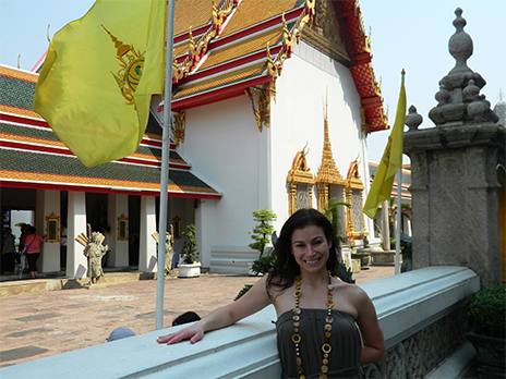 Grand Palace in Bangkok, Thailand – GAdventures Tour – 2/2012 Traveling to other countries has resulted in life changing & adventurous experiences! Learning how to better embrace being out of my element!