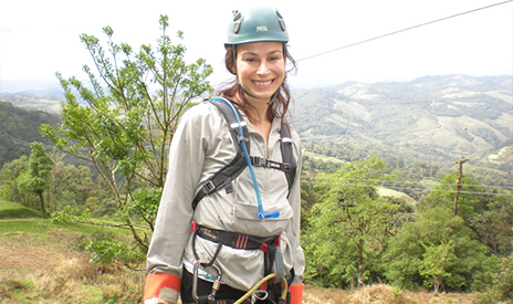 Ziplining Adventure in Monteverde, Costa Rica - GAdventures Volcano Trail Tour - 12/2012. Facing my fears, Letting go of what is holding me back in life & Embracing the moment at the highest cable of 540 ft above a mountain valley for 1km distance!! I did it!