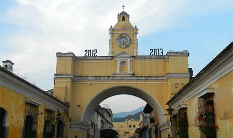 Central America GAdventures Tour 1/2013 – Antigua, Guatemala