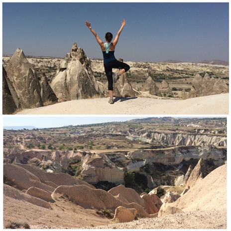 Cappadocia Hike on my birthday! - Cappadocia, Turkey, August 2014 - Absolute Turkey GAdventures Tour
